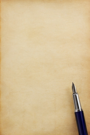 scroll paper: ink pen on parchment background texture