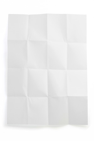 folded note paper isolated on white background stock photo picture