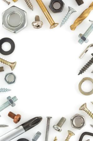 hardware tools: hardware tools isolated on white background