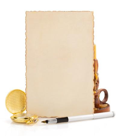 retro concept isolated on white background photo