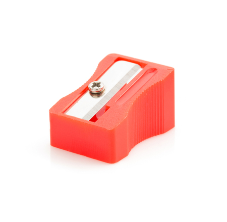 pencil sharpener: pencil sharpener isolated on white background