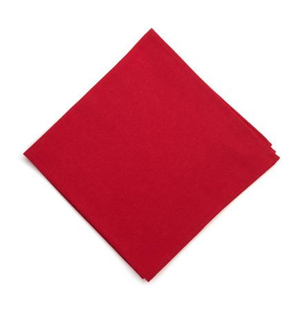 servilletas: servilleta aislado sobre fondo blanco