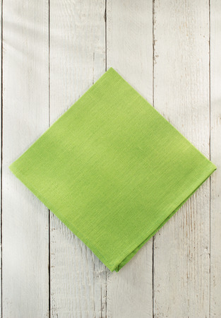 cloth: cloth napkin on wooden background