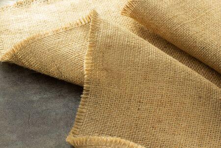 burlap texture: burlap hessian sacking at background texture