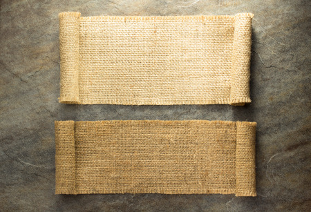 burlap hessian sacking on background texture Stock Photo - 51703548