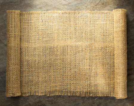 hessian: burlap hessian sacking on background texture