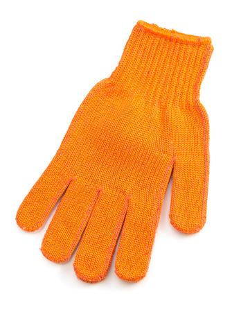 white work: work gloves isolated on white background