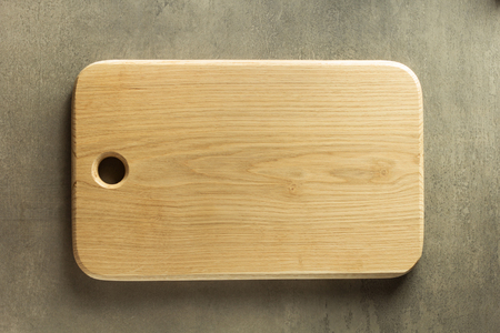 table surface: cutting board at table surface