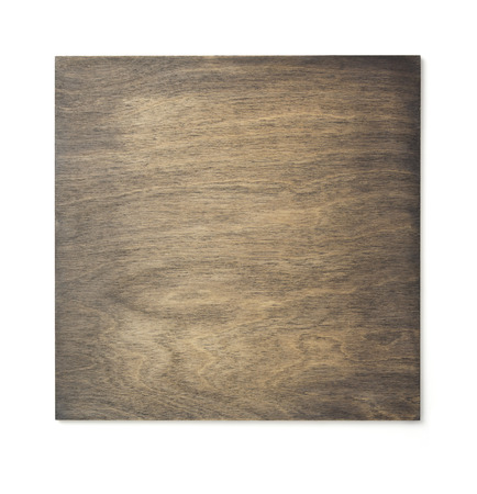 wooden surface texture isolated at white background Archivio Fotografico
