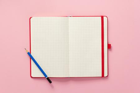 notepad at abstract background surface 版權商用圖片