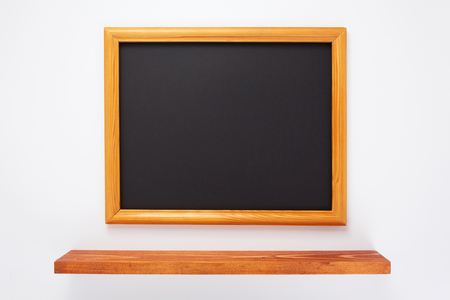 photo picture frame on white background