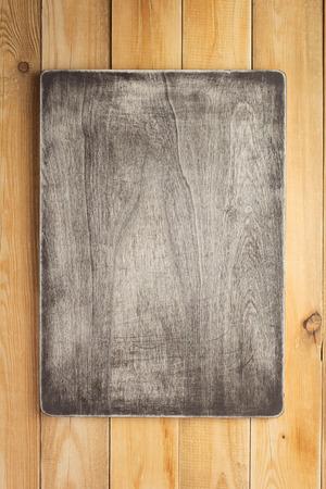 Panneau de signalisation et surface de texture en bois