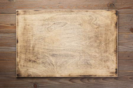 Sign board and wooden texture surface