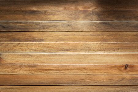 wooden plank board background as texture surface Imagens