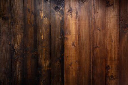 fond de planche de bois marron comme surface de texture