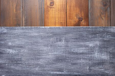 nameplate or wall sign at  wooden background texture surface