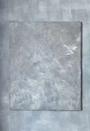 grey stone wall concrete surface frame as background texture