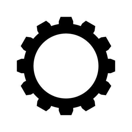 Gear it is the black color icon.