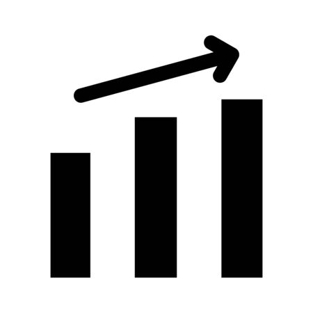 Growth chart it is the black color icon.