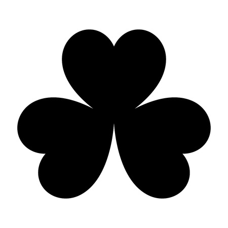 patrick: The clover it is black color icon.