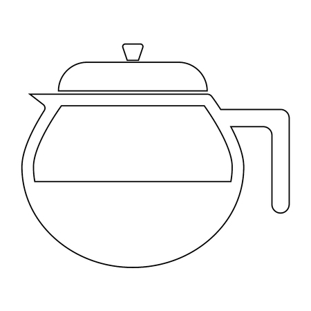 embarrassment: Teapot it is the black color icon .