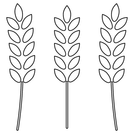 sheaf: Wheat   it is the black color icon .