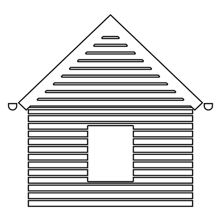 Siding front   it is the black color icon . Illustration