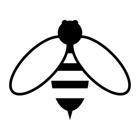 Bee it is the black color icon .