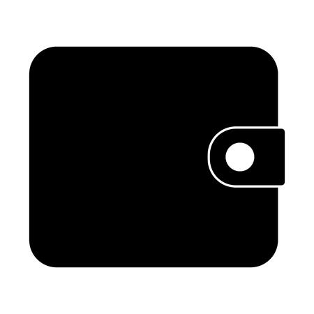 change purse: Change purse black color icon