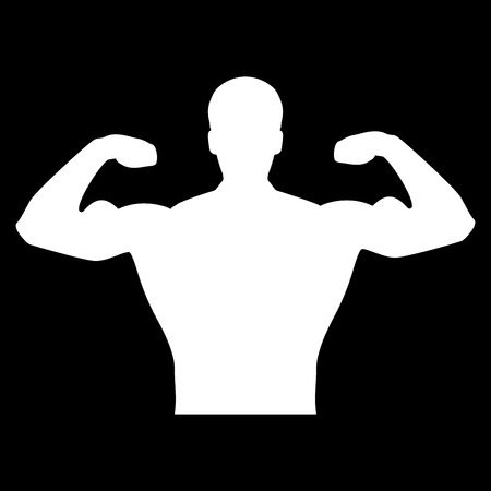 Bodybuilder it is the white color icon.