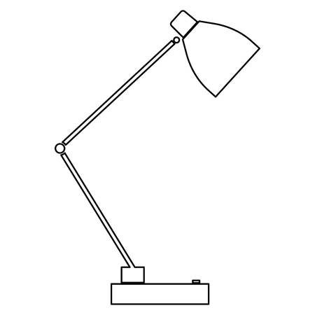 flexibility: Lamp  it is the black color icon .