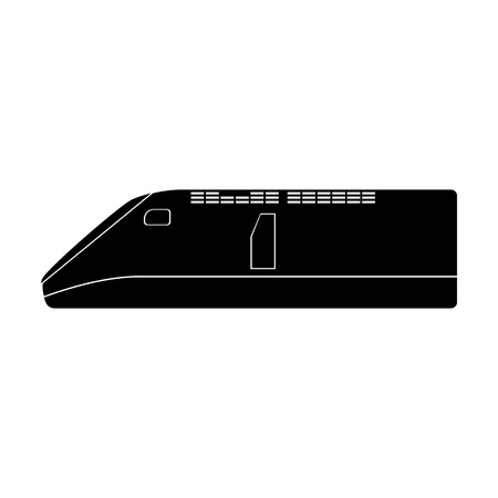 Speed train it is the black color icon .