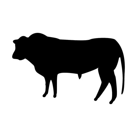 Bull it is the black color icon .