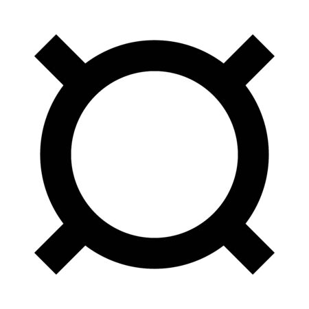 currency converter: Computer symbol any currency it is the black color icon . Illustration