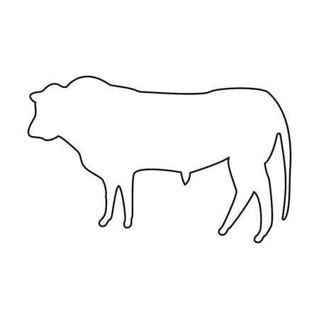 Bull icon .