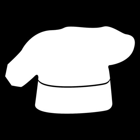 Icona del cappello da cucina. Archivio Fotografico - 81897306