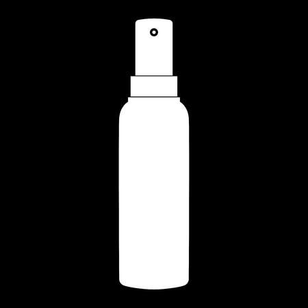 paint can: Spray icon . Illustration