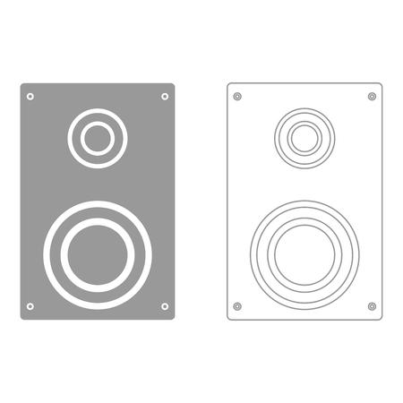 loud: Loud speaker  set  icon .