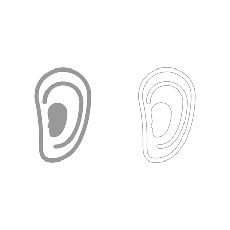 Ear  set  icon .