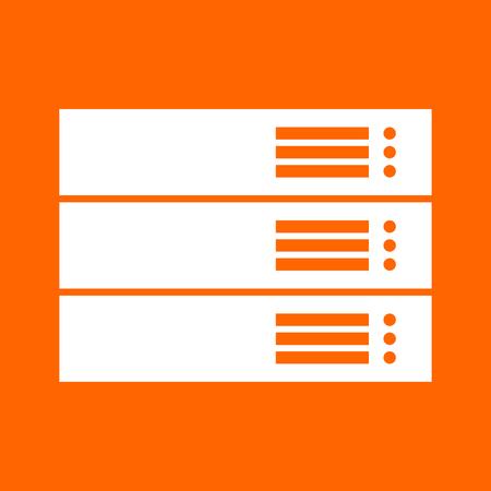 Server it is white icon .