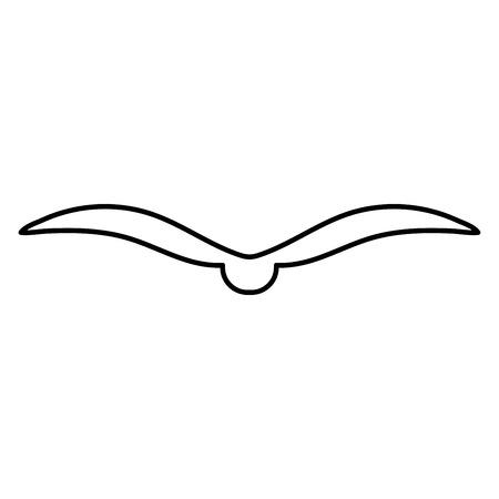 patten: Bird it is black color icon .