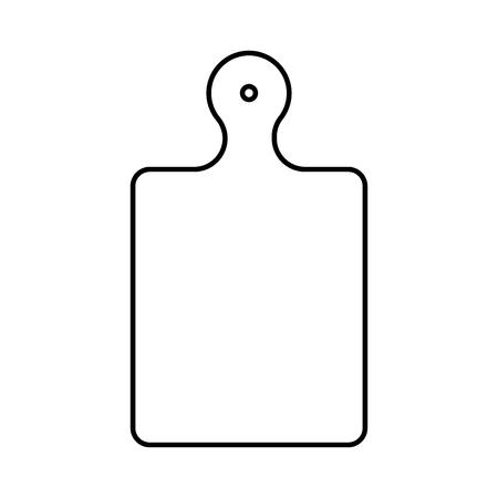 Kitchen board icon. Ilustrace