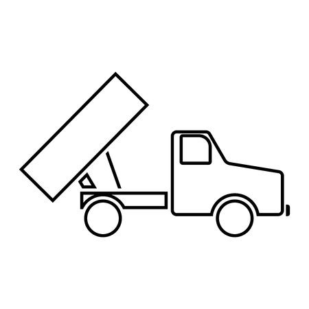 dumping: Dumper icon.