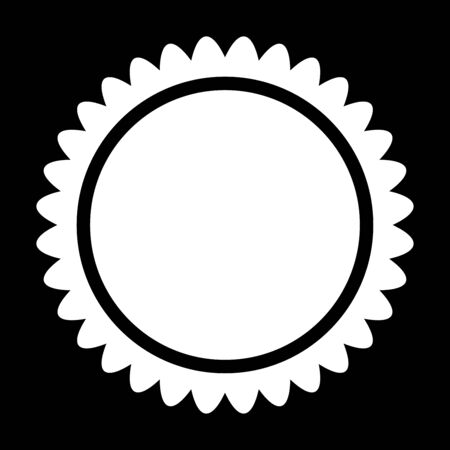 ray of light: Sun it is icon . Flat style . Illustration
