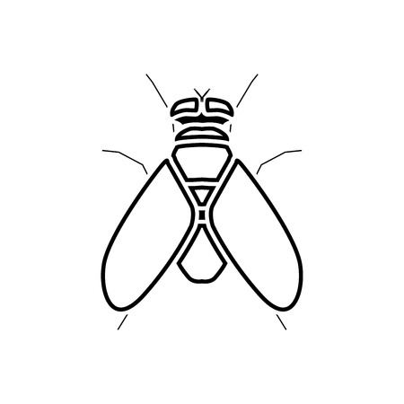 Fly it is black icon . Simple style .