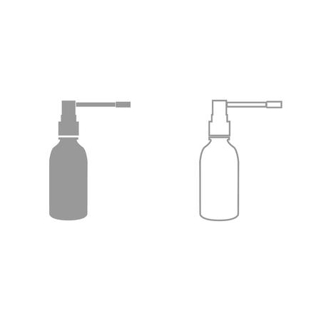 Kehlspray ist graues Symbol gesetzt.