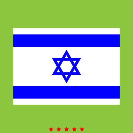 Flag of Israel icon.
