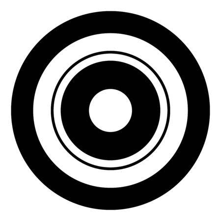 Electric symbol type cooking surfaces sign utensil destination panel icon in circle round black color vector illustration flat style simple image
