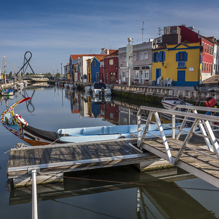 sediments: Aveiro is one of the most beautiful and ancient cities of Portugal, is attractive for its canals formed by river sediments in the coastal lagoon, which glide painted boats known as moliseyru.