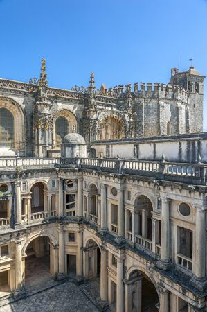 templars: Monastery of the Order of Christ - the main stronghold of the Portuguese Templars and their successors , the Order of Christ
